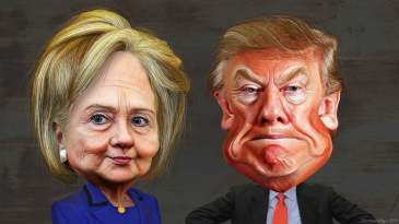 trump-clinton-cartoons