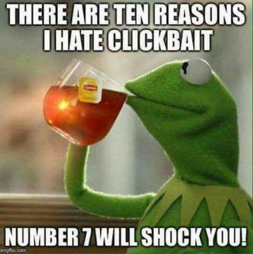 Clickbait Meme